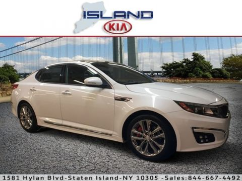 Pre-Owned 2015 Kia Optima SXL Turbo Front Wheel Drive Sedan